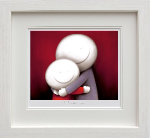 I Missed You by Doug Hyde - Framed Limited Edition on Paper